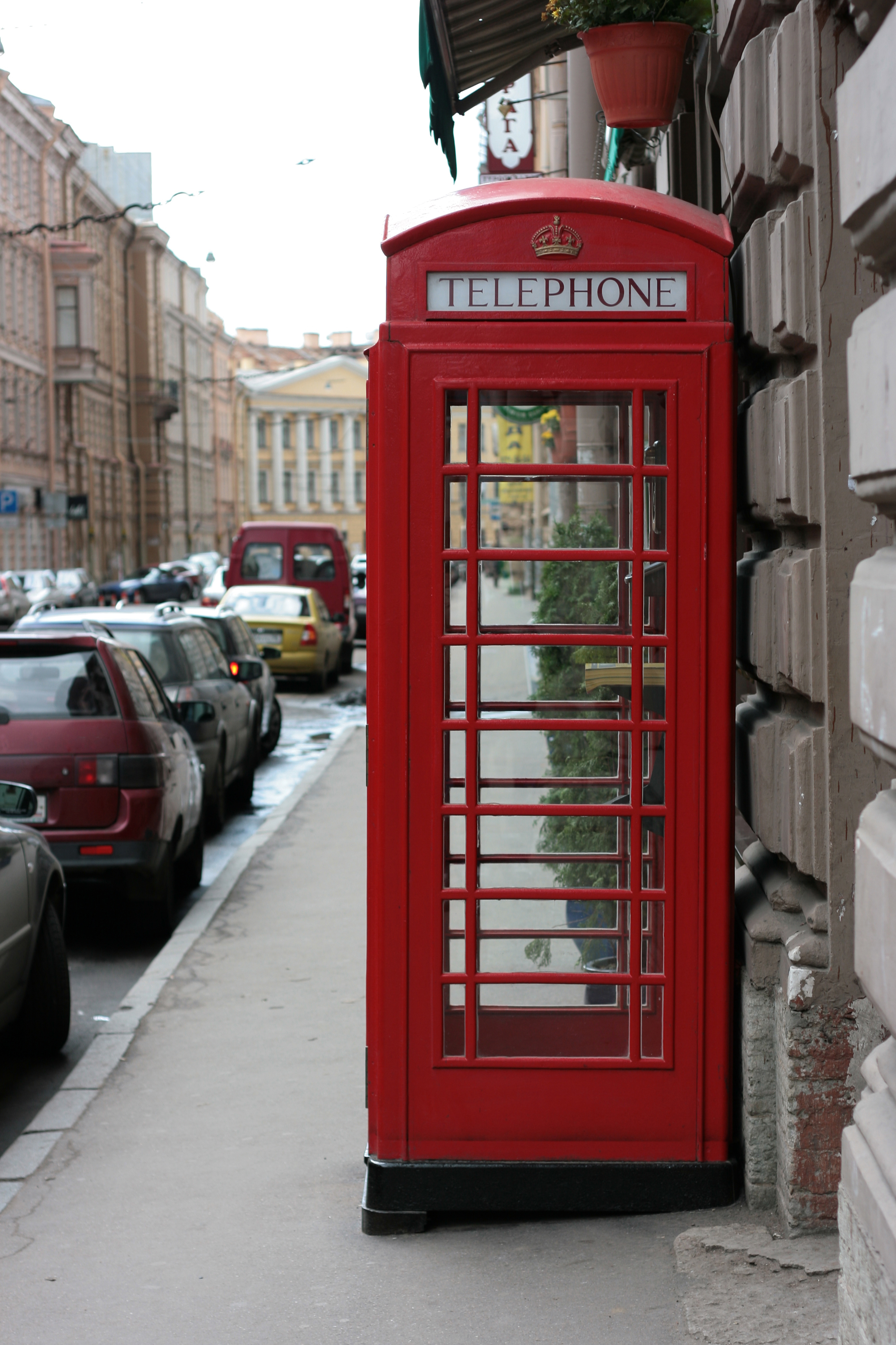 antique english call box